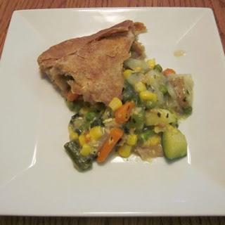 Homemade Organic Vegetable Pot Pie