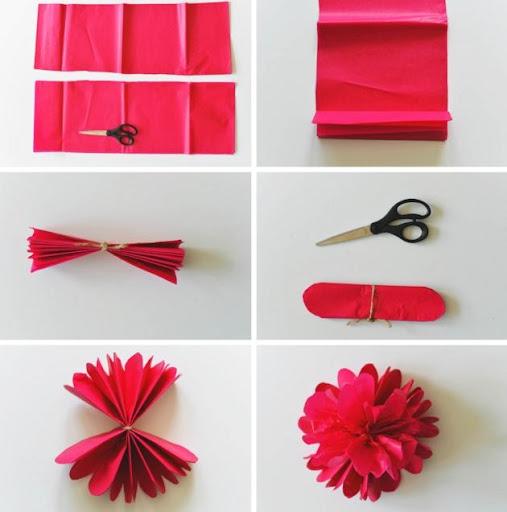 DIY纸花