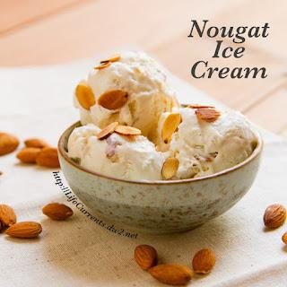 Almond Nougat Ice Cream