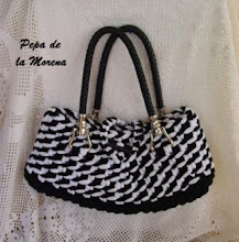 Photo: bolso de trapillo
