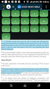 Christians Daily Study Bible - náhled