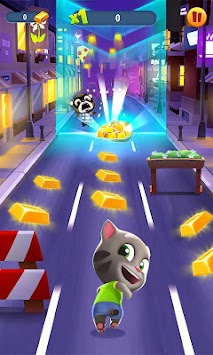 Talking Tom Corrida Do Ouro APK screenshot thumbnail 1