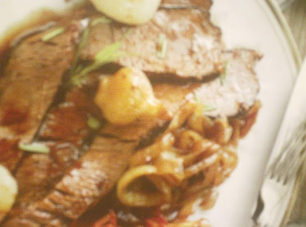 Beef Brisket With Caramelized Onions Recipe