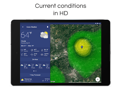 NOAA Weather Radar Live & Alerts 10