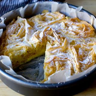 Ruffled Milk Pie.