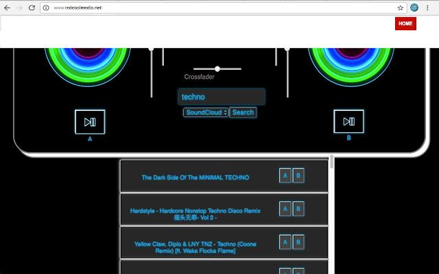 Music mixer DJMusic - Chrome Web Store