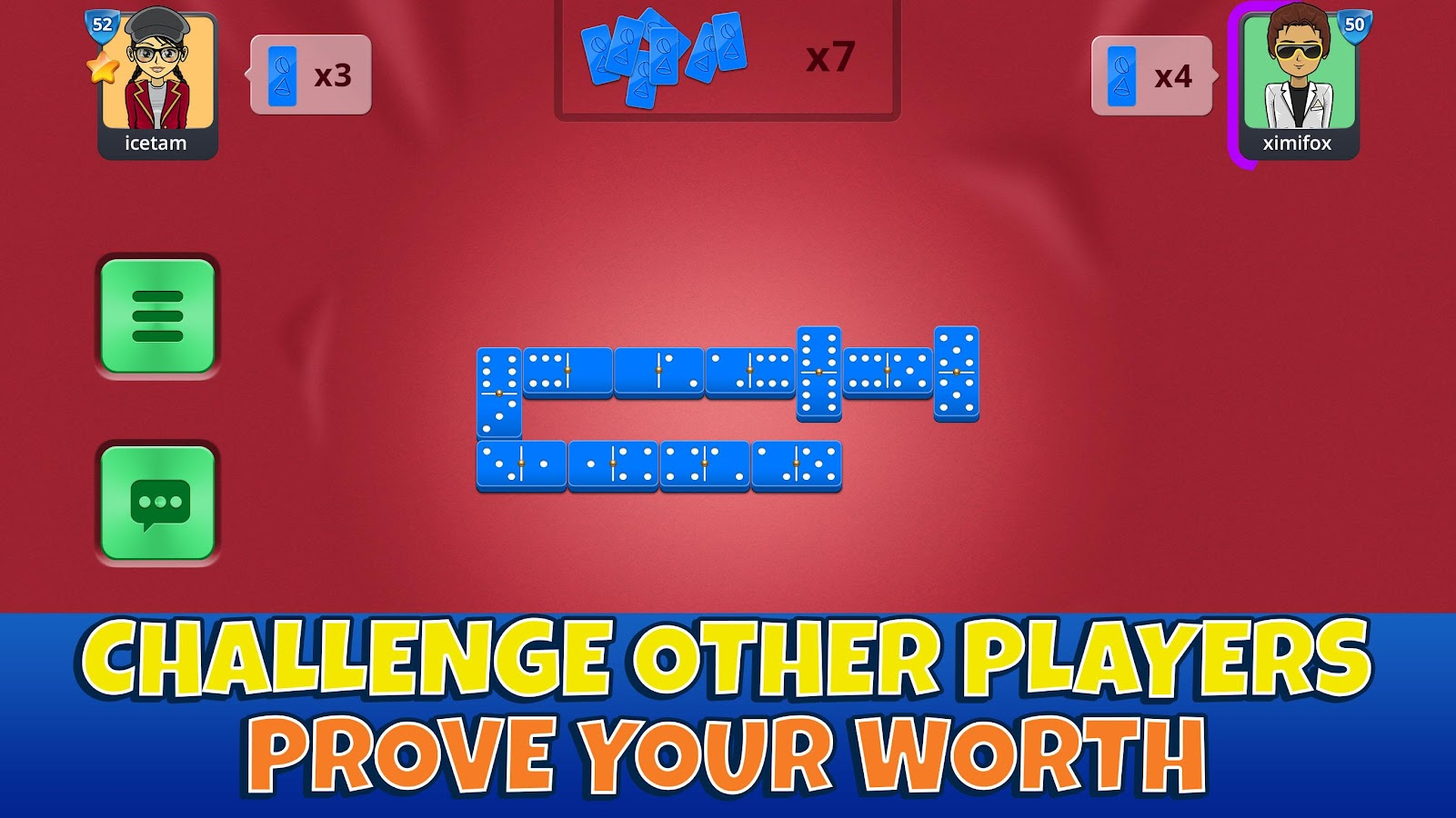 Dominoes Casual Arena- screenshot