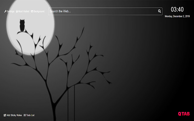 Black and White Wallpapers HD New Tab