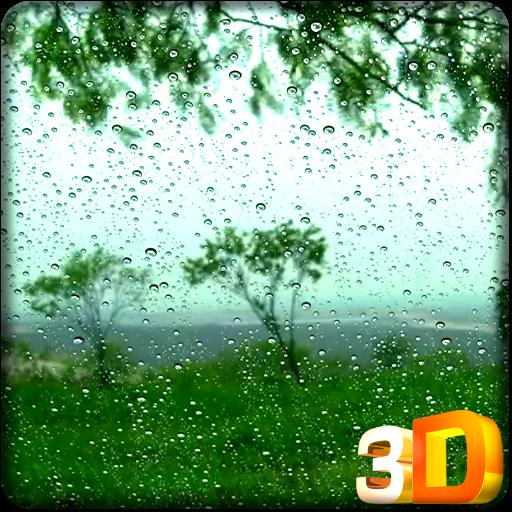 雨は、HDビデオLWPを削除 個人化 App LOGO-APP開箱王