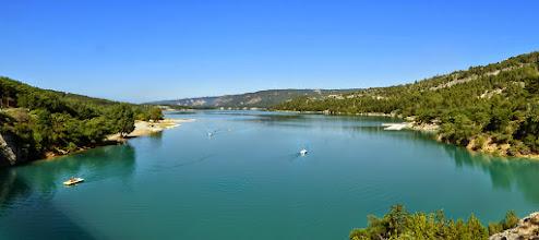 Photo: Lac de SAINTE CROIX