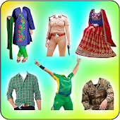 Latest Fancy Dress-Love Dress Changer & Wallpapers