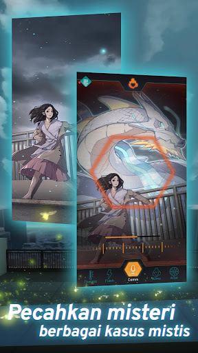 Code Atma: Indonesian Horror Idle RPG apkdebit screenshots 2