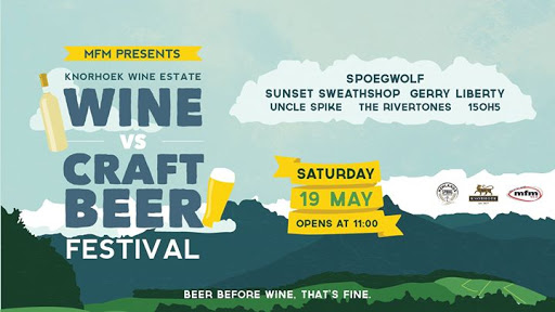 MFM presents WINE vs CRAFT BEER Birthday Festival : Knorhoek Wine Farm