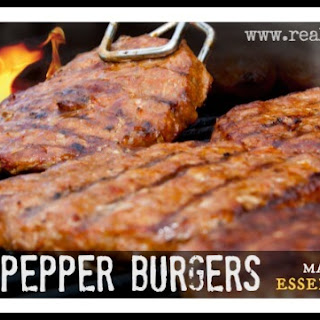 Black Pepper Burgers