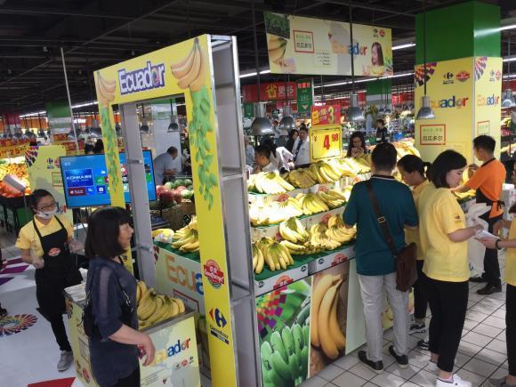 Ecuador promociona la venta de su banano en principales cadenas de comercio  de China   ICNDiario
