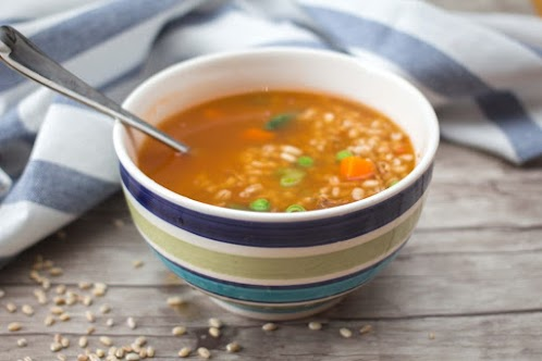 Vegetables and Barley Soup