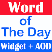 Word of the Day Widget + AOD