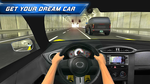 Racing in City - Car Driving captures d'u00e9cran 2