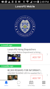 LorainPD Mobile- screenshot thumbnail