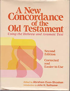 A NEW CONCORDANCE OF THE OLD TESTAMENT
