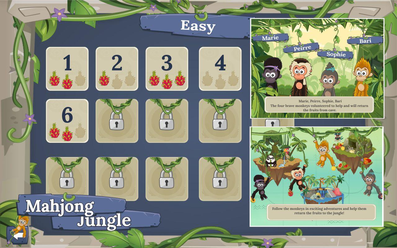 Mahjong Jungle Fruits- screenshot