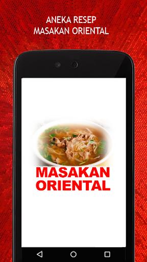 Resep Masakan Oriental