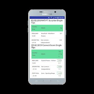 HT/FT Fixed Matches 100% Screenshot