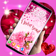 Love Hearts Live Wallpaper \u2764\ufe0f Couple 3D Wallpaper