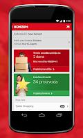 Screenshot of Konzum klik mobile