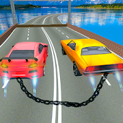 Chained Cars Crash: Chain Racing  Rivals
