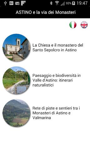 Astino e la via dei monasteri