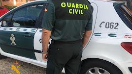Un agente de la Guardia Civil, en una imagen de archivo.