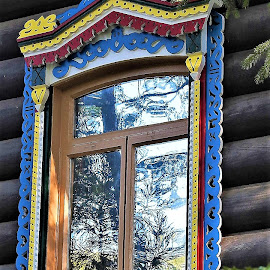 Colorful window by Mary Gallo - Artistic Objects Other Objects ( colorful object,  )