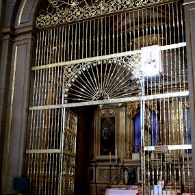 Gate  by Cristobal Garciaferro Rubio - Buildings & Architecture Other Interior ( pwcopendoors-dq, mexico, puebla )