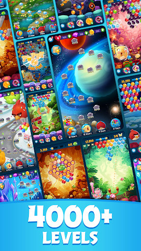 Angry Birds POP Bubble Shooter apkpoly screenshots 2