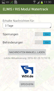 ZUSATZMODUL Watertrack PRO ELWIS Screenshot
