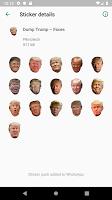 screenshot of Dump Trump for WhatsApp