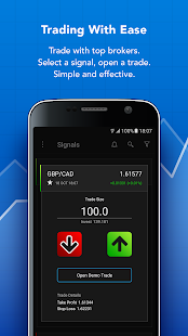 Forex Trading Signals - náhled