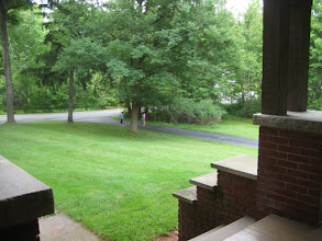 Photo: From the front porch, looking at Chestnut Street.
