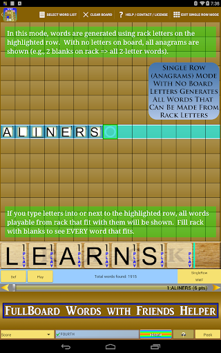 Words Helper 4 Friends  screenshots 6