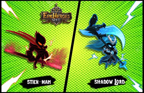 Epic Heroes: Blade Dark Shadow & Stickman Unlocked Screenshot
