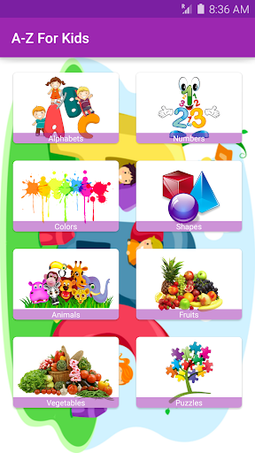 A - Z For Kids