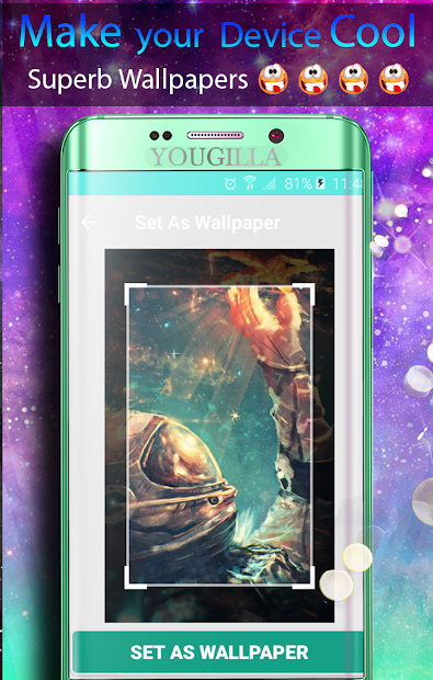 ... Cool Wallpapers: Awesome, superb, fantastic Android App Screenshot ...