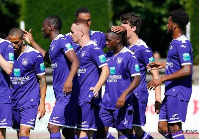 Des Anderlechtois concluent leur première journée de préparation par un dizzy penalty