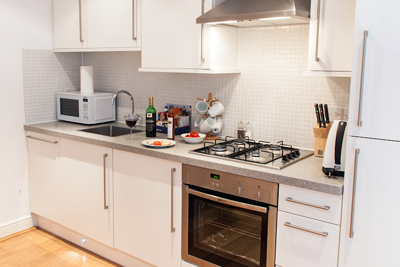 Fully equipped kitchen at Savage Gardens, Tower Hill