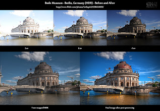 Photo: HDR Before-and-After: Bode Museum ( http://bit.ly/bna-bode )  Here is the before-and-after comparison of the image I posted earlier today at [ http://bit.ly/gp-bode ]. You can also find the image at flickr here: [ http://bit.ly/fr-bode ].  Cheers and have a great weekend, everybody!  #hdr #photography #before_and_after