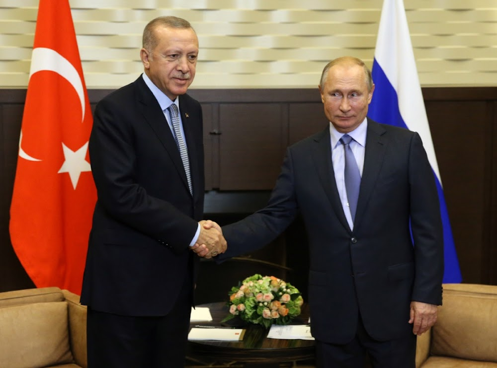 Vladimir Putin is power broker as Turkey threatens to restart Syria offensive
