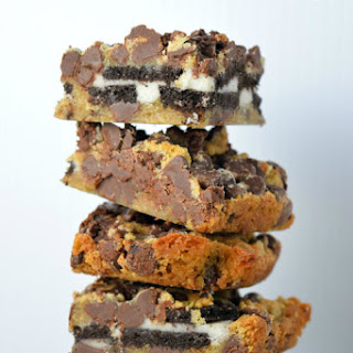 Oreo Chocolate Chip Bars