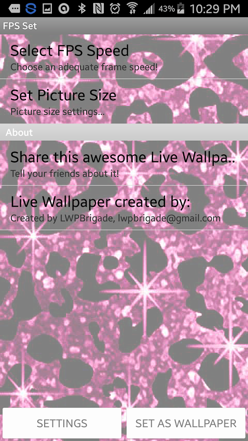 Cheetah Spots Live Wallpaper - Android Apps on Google Play