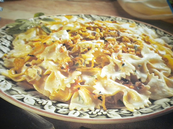 Pasta With Onions And Goat Cheese Recipe